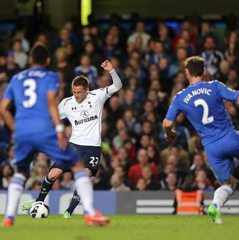 Gylfi Sigurdsson scores the equaliser