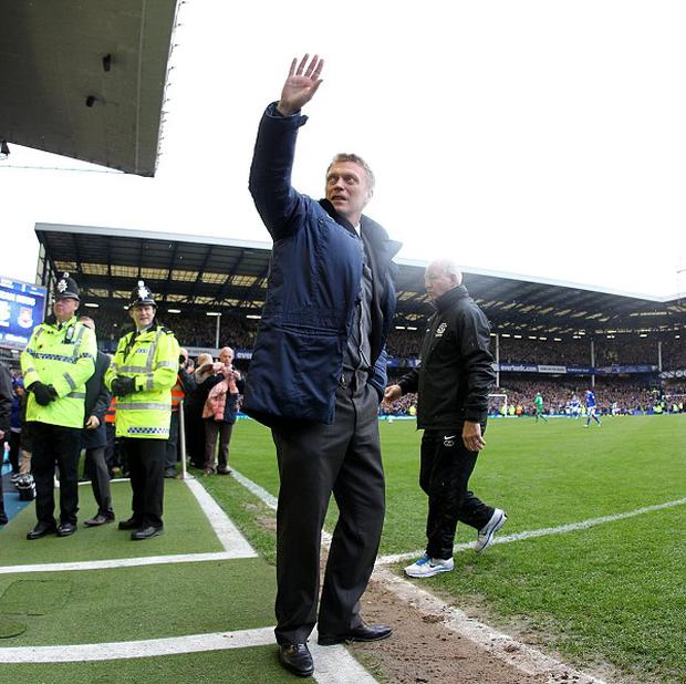 David Moyes' final home game in charge of Everton ended in victory