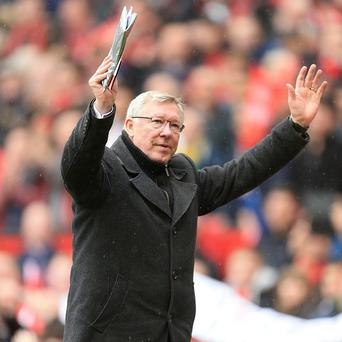 Sir Alex Ferguson guided Manchester United to victory in his final game at Old Trafford