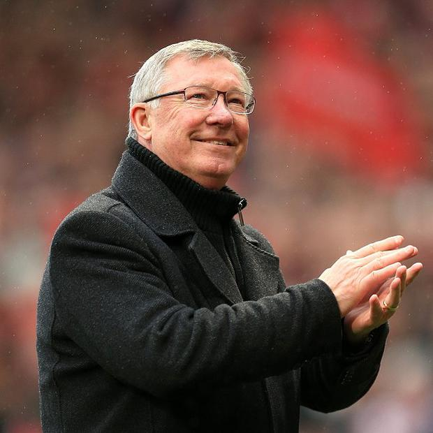Sir Alex Ferguson, pictured, wants everyone at Manchester United to back David Moyes