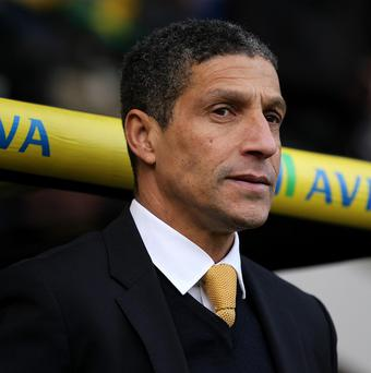 Chris Hughton hailed Norwich's thumping 4-0 win over West Brom