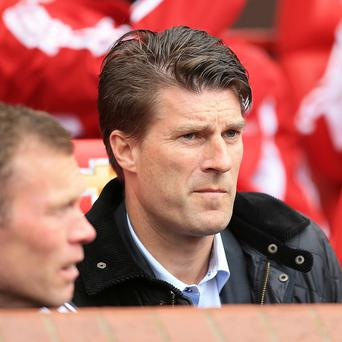 Michael Laudrup, right, has committed his future to Swansea