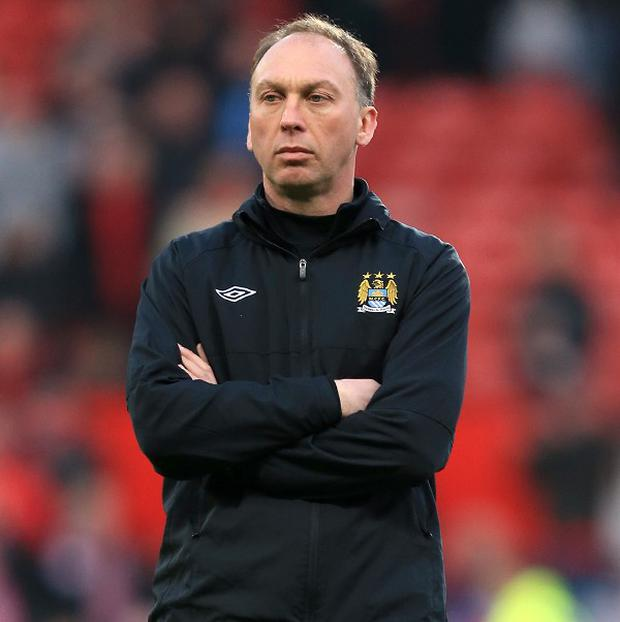 David Platt has left Manchester City