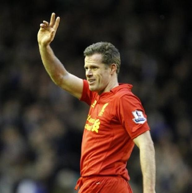 Jamie Carragher will bow out this weekend