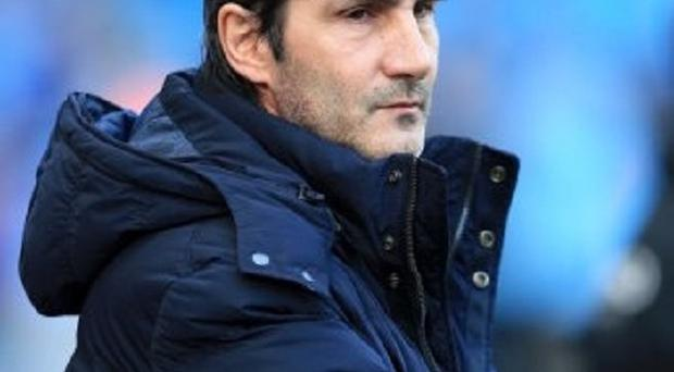 Angelo Gregucci, pictured, has followed Roberto Mancini and David Platt by quitting Manchester City