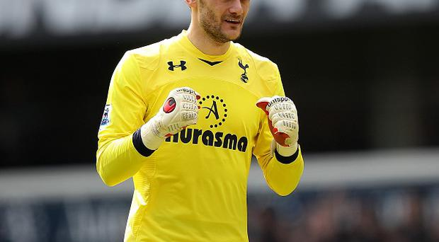 Hugo Lloris is still hoping Spurs can finish in the top four