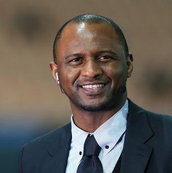 Patrick Vieira has been assigned to a new role at Manchester City