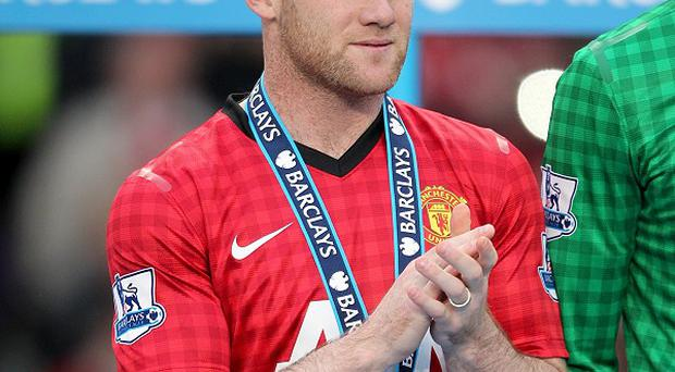 Wayne Rooney, pictured, was not even on the bench for Sir Alex Ferguson's final home game before his retirement