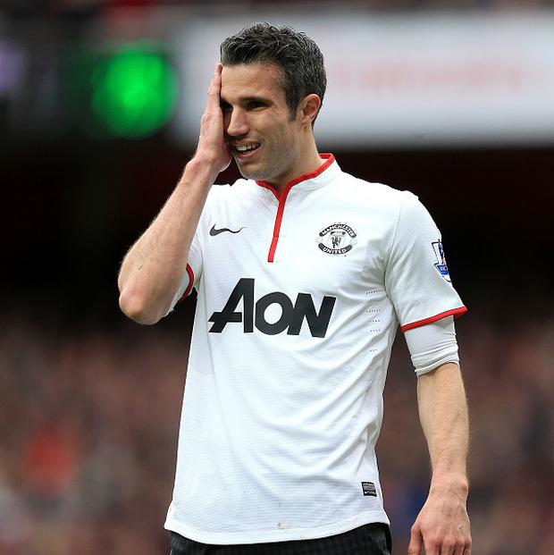 Robin van Persie left Arsenal to join Manchester United last summer