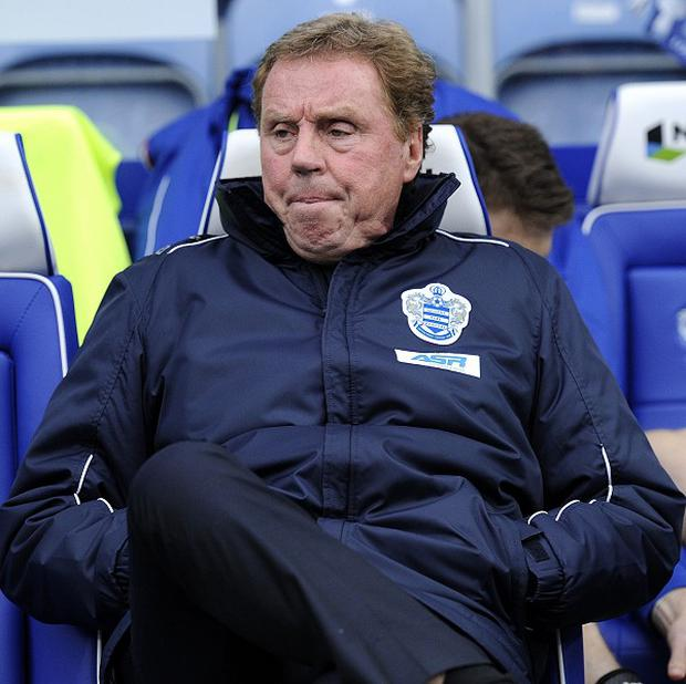 Harry Redknapp's QPR take on Liverpool at Anfield in their final game