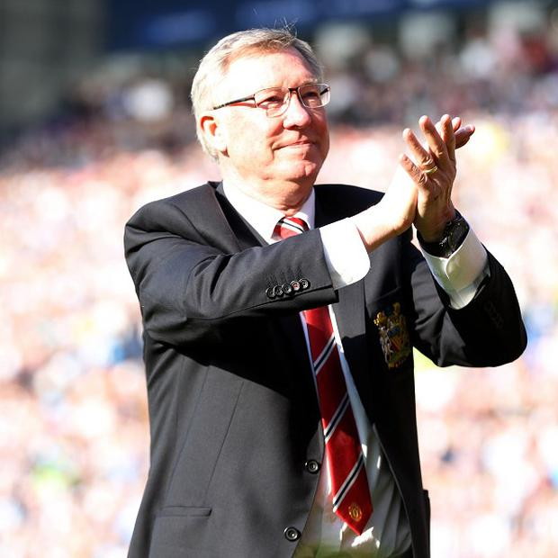 Sir Alex Ferguson was named the LMA manager of the year on Monday night