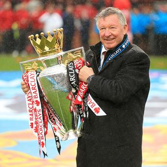 Sir Alex Ferguson was confident United would regain the title after losing out on the last day in 2012