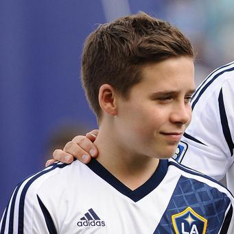 Brooklyn Beckham is training with QPR's academy