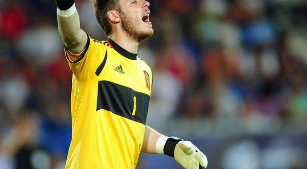 David de Gea is currently playing for Spain Under-21s in Israel