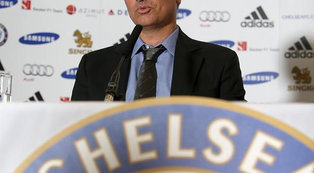 Jose Mourinho, pictured, believes David Moyes is a good choice for Manchester United