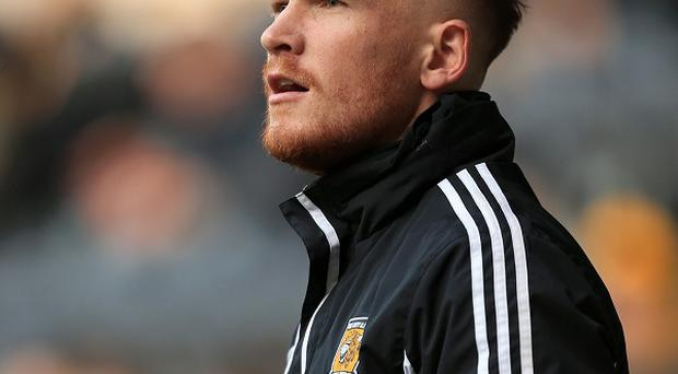 Mark Oxley made his senior Hull City debut against Sheffield Wednesday in January
