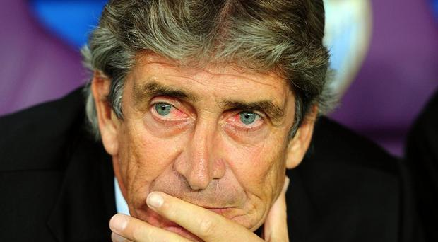 Manuel Pellegrini has joined Manchester City on a three-year deal