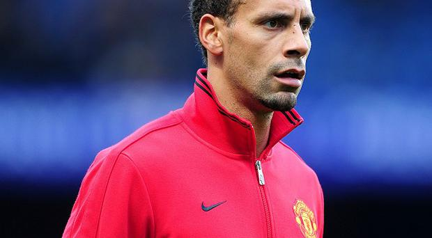 Rio Ferdinand, pictured, considered hanging up his boots when Sir Alex Ferguson retired