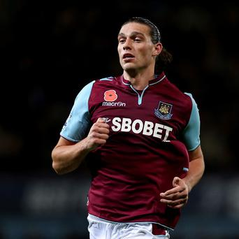 Andy Carroll spent last season on loan at West Ham