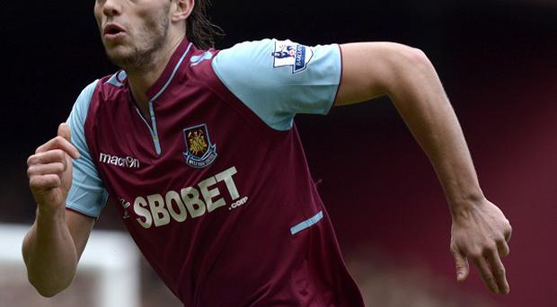 Andy Carroll has signed a six-year deal at West Ham