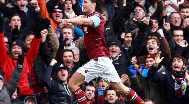 Andy Carroll is determined to score on a regular basis for West Ham