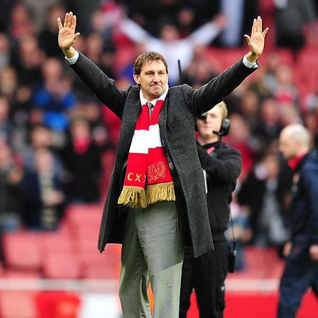 Tony Adams spent 19 years as a player at Arsenal