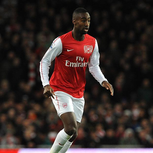 Arsenal defender Johan Djourou spent the second half of last term on loan at Hannover