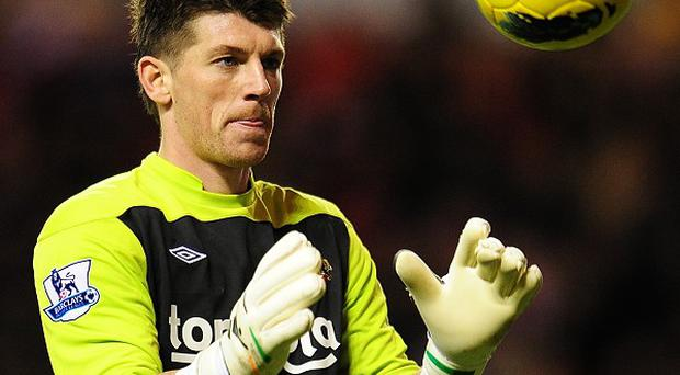 Keiren Westwood wants to be Sunderland and Ireland's number one