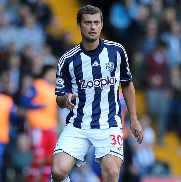 Gabriel Tamas intends to stay and fight for his place in the West Brom team