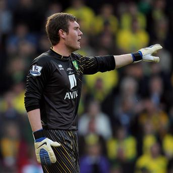Jed Steer, pictured, is set to be reunited with Paul Lambert at Aston Villa