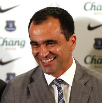 Roberto Martinez begins work as Everton manager next week
