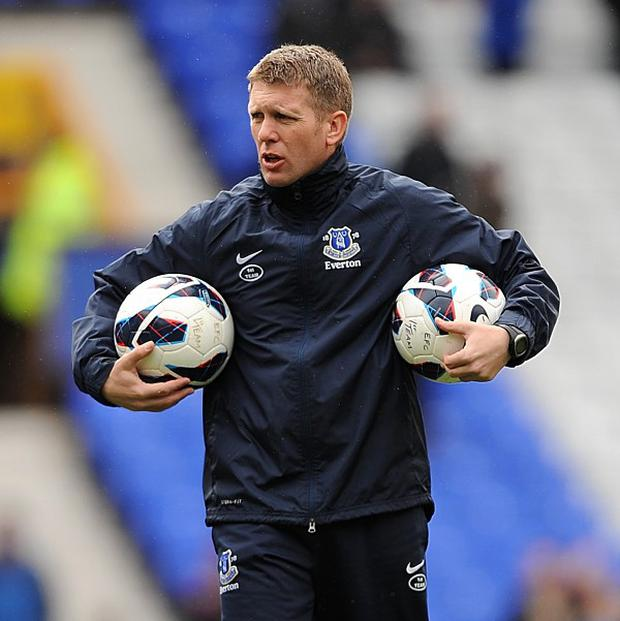 Steve Round, pictured, has been named as David Moyes' assistant manager at Manchester United