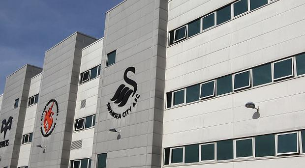 Swansea brought three players to the Liberty Stadium on Tuesday