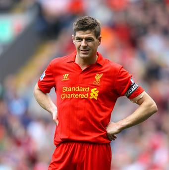 Steven Gerrard, pictured, will still be a key cog in Brendan Rodgers' team