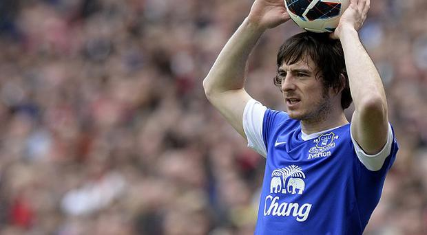 Manchester United want to lure Leighton Baines away from Goodison