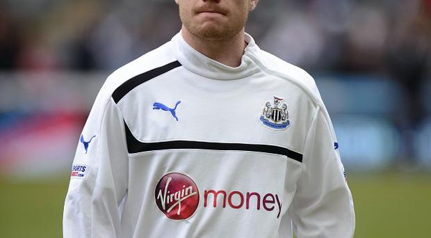 Adam Campbell made three Premier League appearances for Newcastle last season