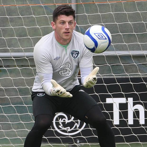 Keiren Westwood will not be content with the role of back-up goalkeeper at Sunderland