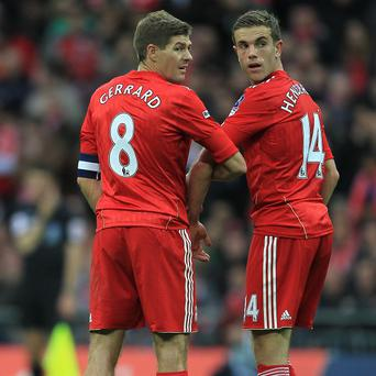 Steven Gerrard wants the likes of Jordan Henderson, right, to be more consistent