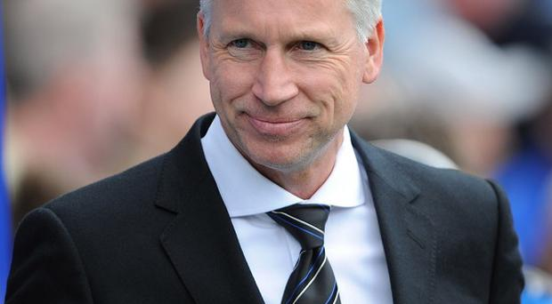 Alan Pardew, pictured, was on holiday when Joe Kinnear was appointed as director of football