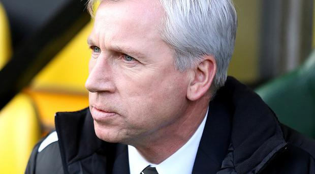 Alan Pardew is determined to get Newcastle back up the table this season