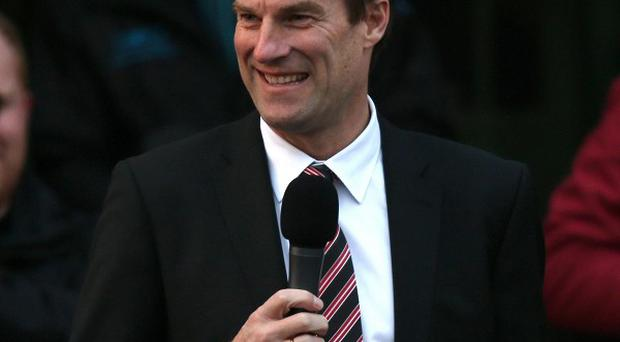 Michael Laudrup says he is happy at Swansea