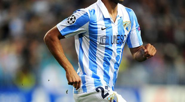 Roque Santa Cruz was on loan at Malaga last season