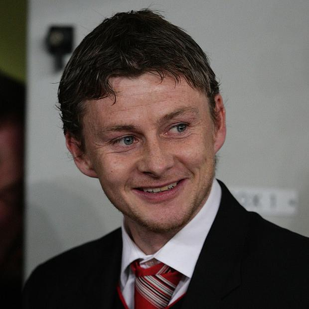 Vegard Forren is set to be reunited with Ole Gunnar Solskjaer, pictured, at Molde