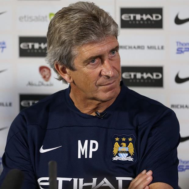 Manuel Pellegrini changed his entire team at half-time