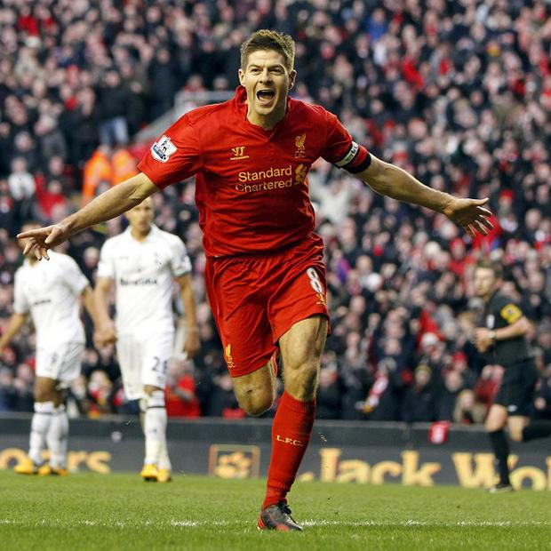 Steven Gerrard has made 630 appearances for Liverpool