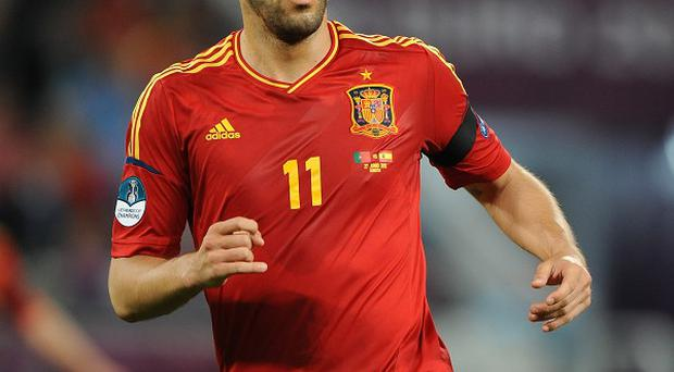Alvaro Negredo, pictured, is set to become Manuel Pellegrini's third signing