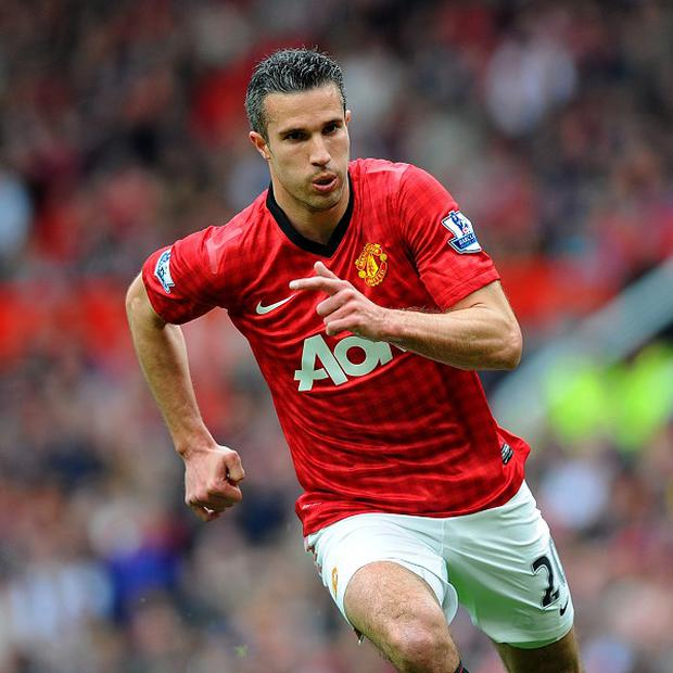 Robin van Persie missed the first 10 days of Manchester United's pre-season programme