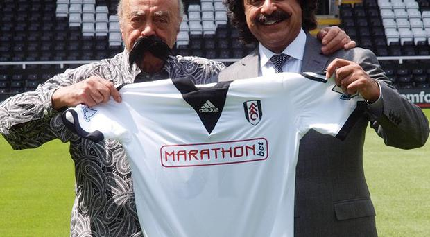 Shahid Khan, right, will attend Fulham's pre-season friendly against Deportivo Saprissa