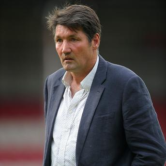Mick Harford, pictured, played under Joe Kinnear at Wimbledon