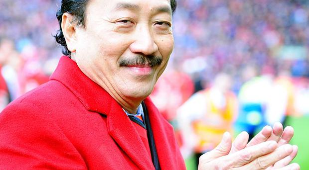 Vincent Tan wants Cardiff to be free of debt